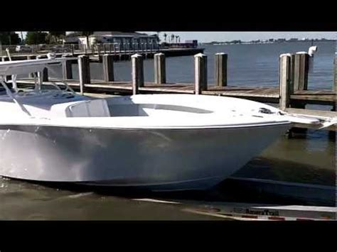 everglades boats vs yellowfin scb recon shallow water take off test funnydog tv