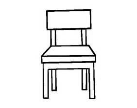 a dining chair coloring page coloringcrew