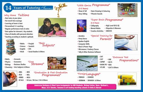 phlet layout pinterest home tuition board design home tutors india com provider