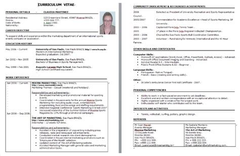 Sample Resume Format For 2 Years Experience by