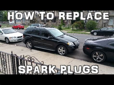 service manual how to change a 2011 mercedes how to replace spark plugs 2005 2011 mercedes benz ml350 youtube
