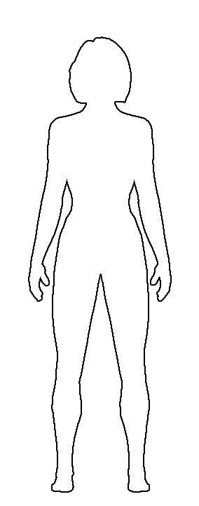 Pictures Female Body Template Printable Drawings Art Gallery Costume Design Template