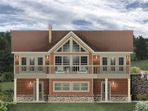 garage carriage house plans 006g 0170 carriage house plan designed for a sloping lot