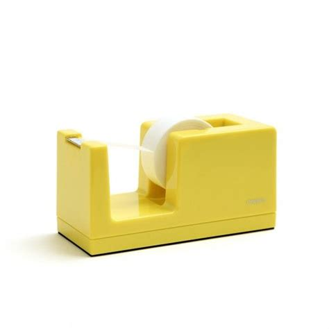 Poppin Office Supplies by A Yellow Dispenser Poppin Desk Junk