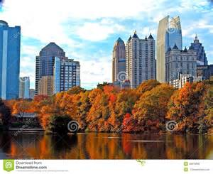 color atlanta atlanta skyline stock photo image 40879938