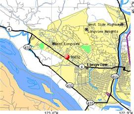 map longview 98632 zip code longview washington profile homes