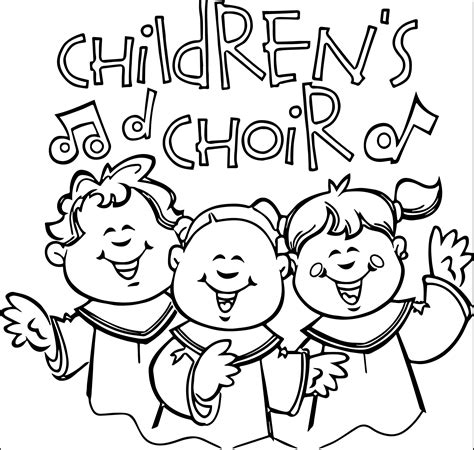 People Singing In Church Clipart 48