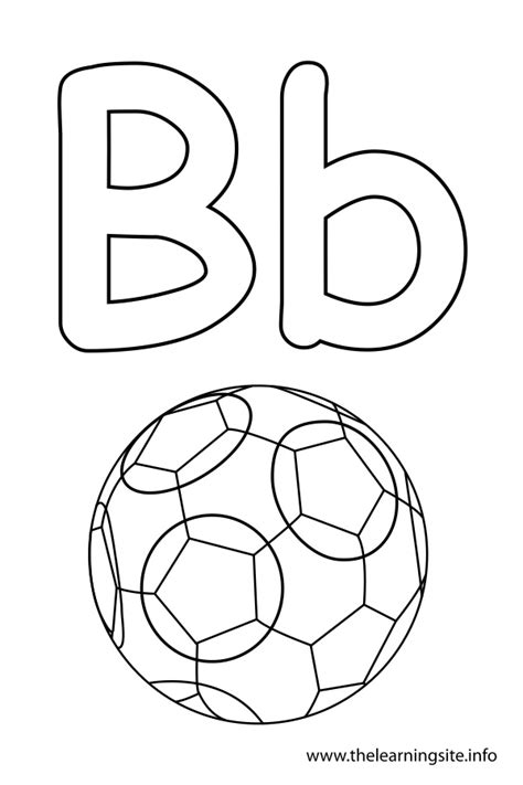 coloring pages for learning the alphabet the learning site alphabet coloring pages letter b in