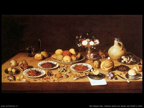 fiori nella pittura kessel jan pittore biografia foto opere settemuse it