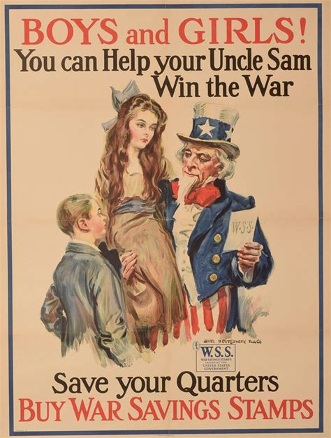 american world war propaganda posters flagged
