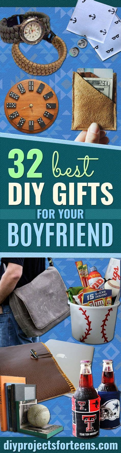 32 awesome diy gifts for your boyfriend handmade