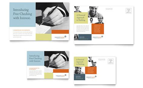 microsoft office postcard templates banking templates word publisher powerpoint