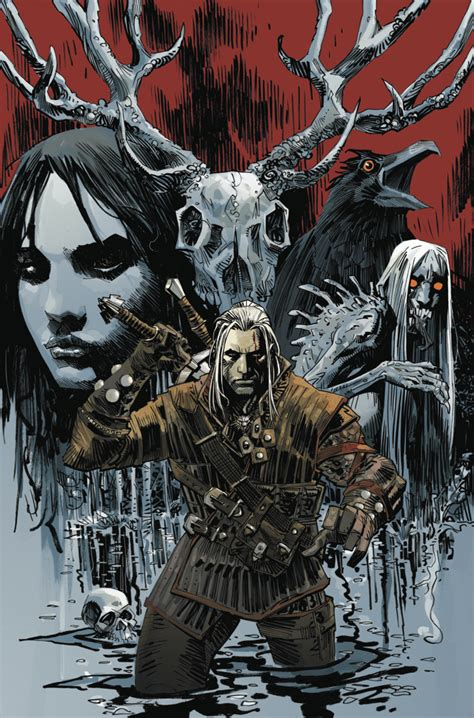 The Witcher Volume 1 House Of Glass Graphic Nove Buruan Ambil witcher comic book revealed gamespot