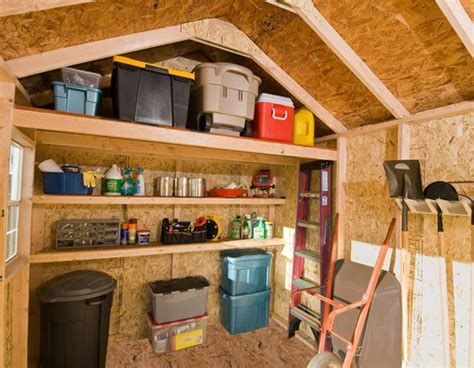interior ideas shed organizing the dos and don ts of shed organization deck and