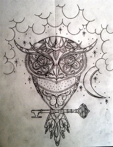 sugar owl tattoo design sugar owl with background by swetattoo on deviantart