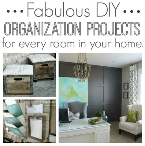 10 fabulous organizing projects linky party features love of family home fabulous diy organization projects for every room in your