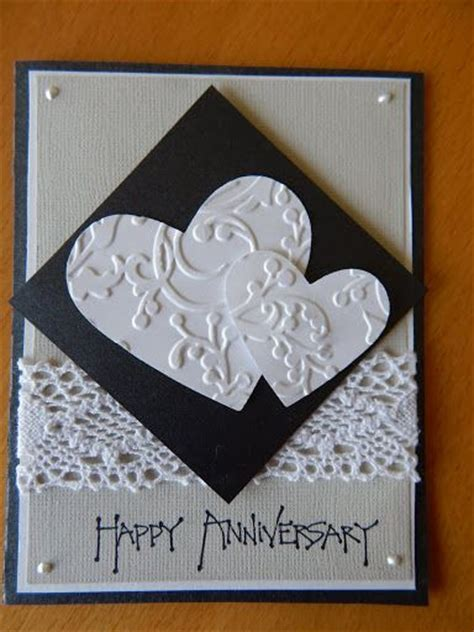 Handmade Anniversary Card Ideas - 25 best ideas about anniversary cards on