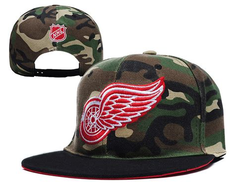 best 2015 new arrived nhl detroit wings camo snapback