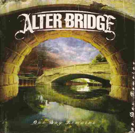 Shed Discogs by Alter Bridge One Day Remains Cd Album At Discogs