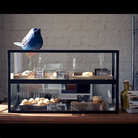 Countertop Glass Pastry Display by Khagee Cafe Chiang Mai Thailand Cafe Coffeeshop Tearoom