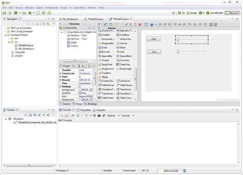 eclipse theme builder bio7 2 0 for windows released bio7 website