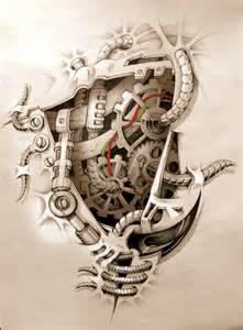 mechanics inside tattoo from devianart another one