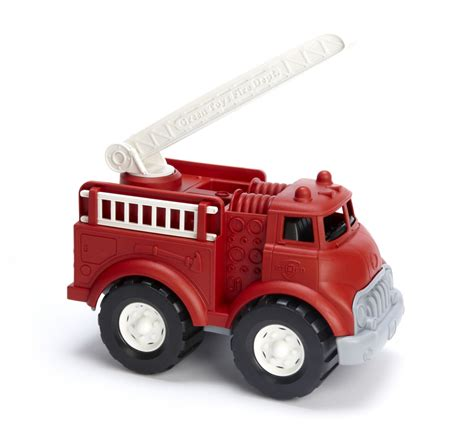 Green Toys Fire Truck   Klevering