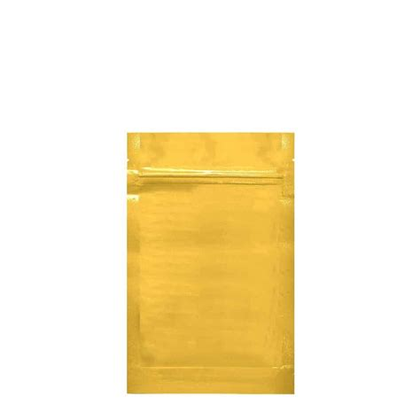 Farma Gold Clear A 1 gold clear mylar smell proof bags 1 4 ounce 2000 count the vial store