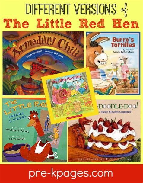 printable version of little red hen little red hen printable picture recipes