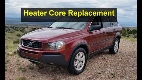 volvo heater heater replacement on a volvo xc90 p2 chasis votd jpg