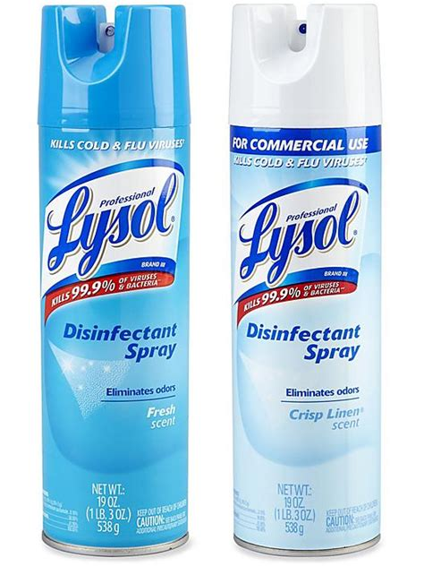 disinfectant spray lysol disinfectant spray  stock uline