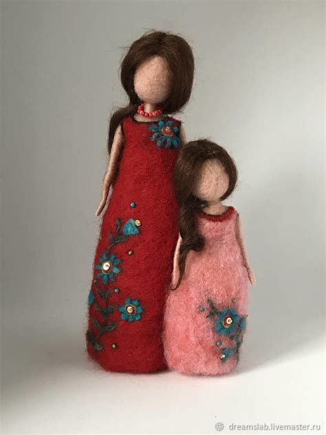 needle felted doll needle felted doll shop on livemaster with