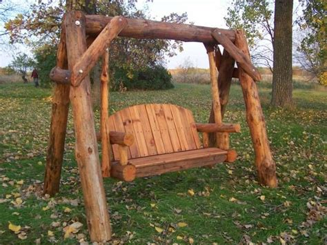log swing set plans free log porch swing plans woodworking projects plans