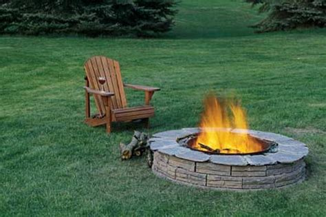Build Your Own Fire Pit For The Home Pinterest Build Your Own Firepit