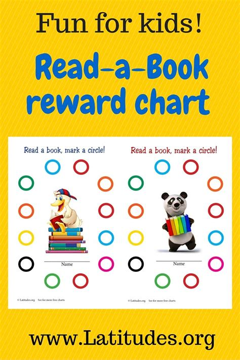 reading incentive chart read  book reading