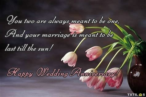 Wedding Wishes Second Marriage by Second Anniversary Wishes Quotes Messages Images For