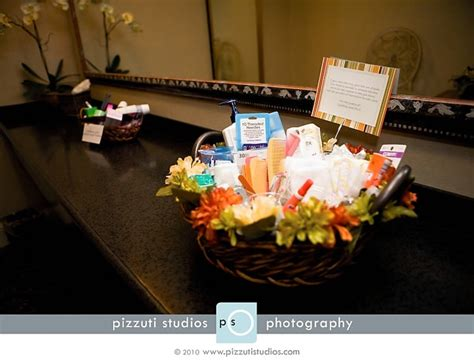 wedding bathroom basket ideas bathroom necessities basket