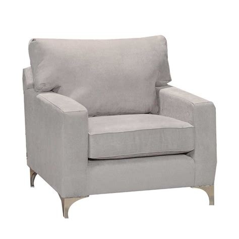 Gray Upholstered Chair tessa charcoal grey upholstered chair