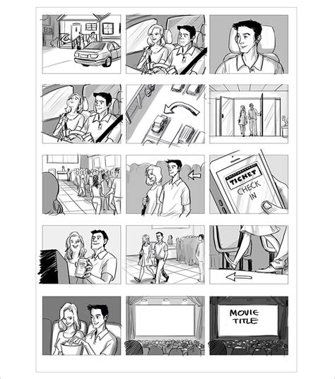 anime storyboard template 70 storyboard templates free word pdf ppt documents