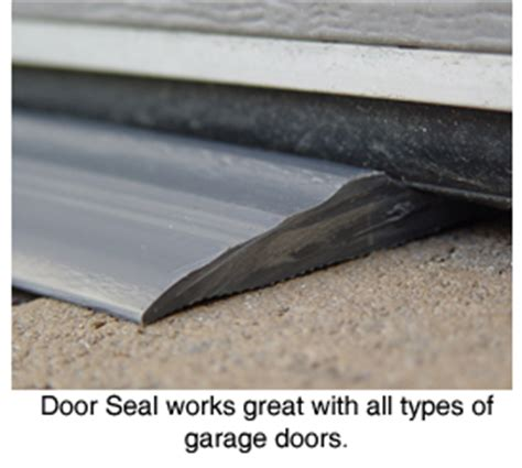 How To Seal A Garage Door by Park Smart Tsunami Seal Garage Door Seal Seal Out The