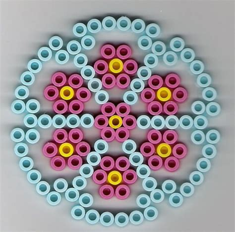perler circle patterns kreis b 252 gelperlen circle perler cool perler