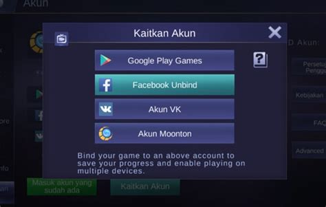 cara mengembalikan akun mobile legend akun mobile legends hilang ini cara mengembalikanya
