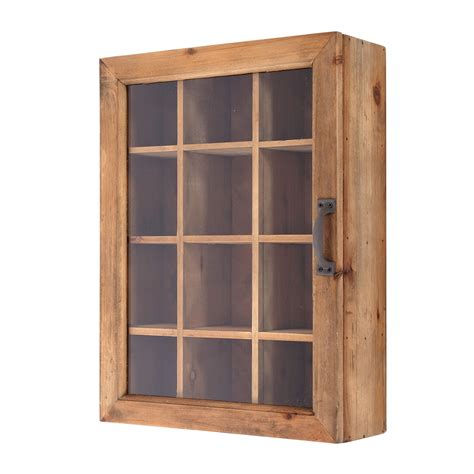 Wandschrank Glas by Wandschrank Quot Cookies Small Quot Tannenholz Glas 40cm