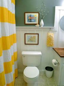 Yellow Bathroom Decorating Ideas by Yellow Bathroom Decor Ideas Pictures Amp Tips From Hgtv Hgtv