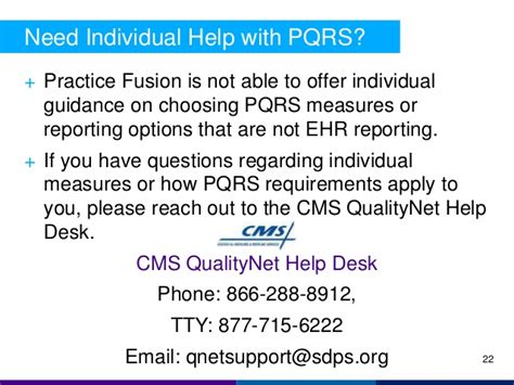 Qualitynet Help Desk by Cqm And Pqrs Reporting With Practice Fusion