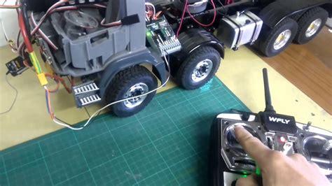 armageddon dump truck  sound module usm rc    cabine volvo youtube