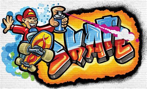 wallpaper graffiti skate easy to install wallpaper murals homewallmurals shop
