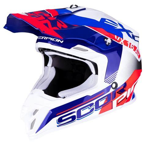 Motorrad Helm Neon by Scorpion Vx 16 Air Arhus Motorrad Crosshelm Perlwei 223