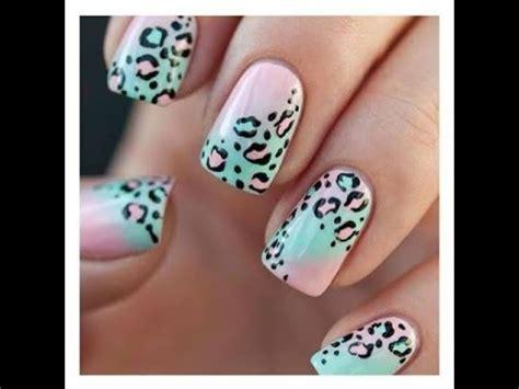 Imagenes De Uñas Acrilicas De Leopardo | u 241 as decoradas leopardo vaca y zebra 3 youtube