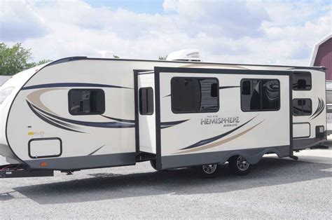forest river travel trailer 2018 new forest river salem hemisphere 27bhhl travel